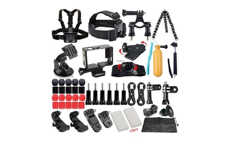 49-in-1 Outdoor Sport Camera Accessories Bundle Kit for Gopro, SJ Cam 52a55bbe-1716-4eeb-953f-e497f9768d32
