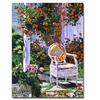 David Lloyd Glover The Sun Chair Canvas Print