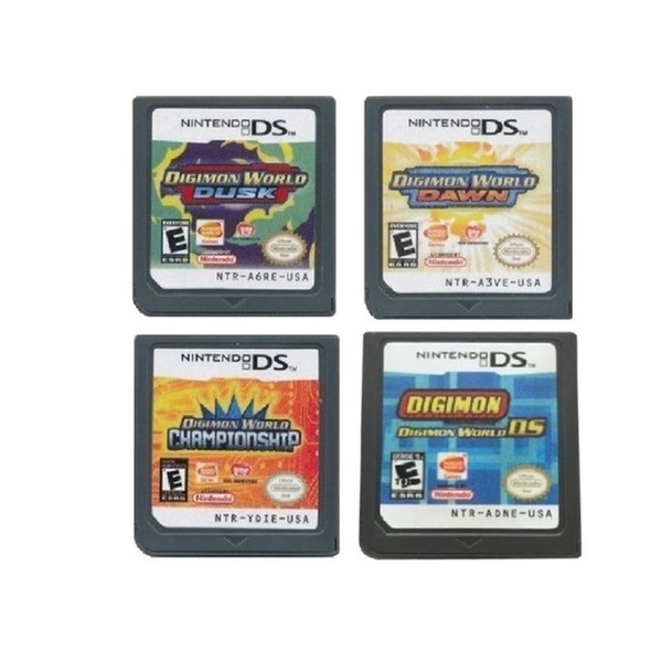 Digimon World DS, Dusk, Dawn, Championship Game Carts for Nintendo DS