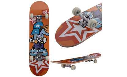 Shop Groupon 31u0027u0027 X 8u0027u0027 Professional Kids Skateboard Complete Wheel Trucks