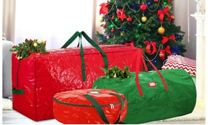 Holiday Storage Bags for Christmas Trees and Wreaths
