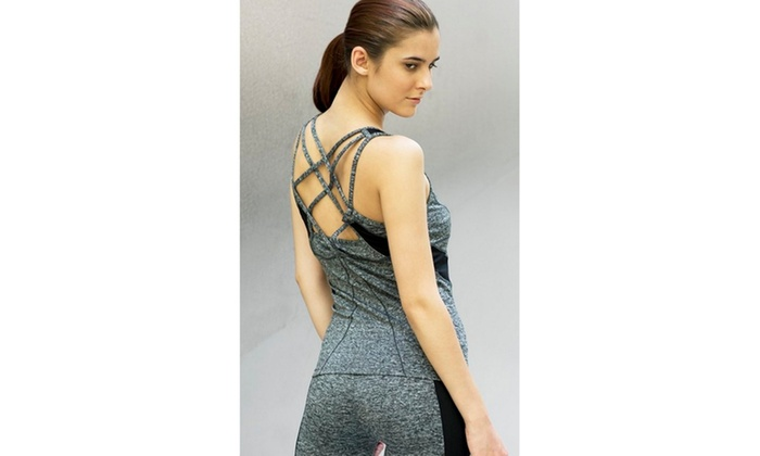 Active Workout Racer Back Tank Top