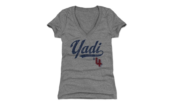 official photos d95e9 d7106 500 LEVEL Yadier Molina Women's Shirt - St. Louis Baseball Women's Apparel -