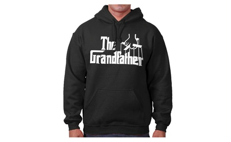 The Grandfather Funny Parody Godfather Grandpa Father's Day Hoodie bef95641-a7b3-42f7-824d-97983ad04eb2
