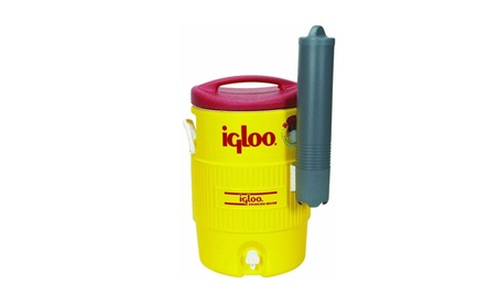 Igloo 5 Gallon Industrial Cooler With Cup Dispenser 2e3ff243-88a5-4496-9dca-51778cc8fe62