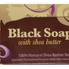 Top-Quality Black Soap Beauty Bar With Shea Butter