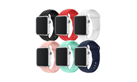 Waloo Silicone Sport Band For Apple Watch