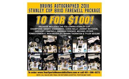 2011 Boston Bruins 8x10 Farewell Package 9cd09cf4-9ab5-4038-9a01-26a3dfee6a01