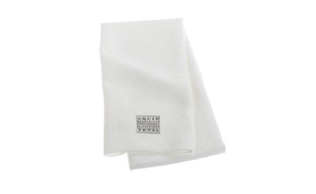 Aquis Microfiber Hair Towel, Lisse Crepe, White (19 x 39-Inches) d0a6d48a-3df2-40d0-9a52-3221ad790d25