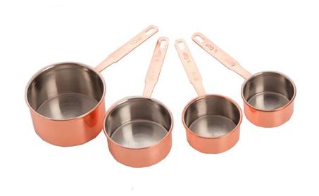4 Piece Copper Measuring Cup Set - 237 06012888-2bcb-4e8c-9458-7145d82f8453