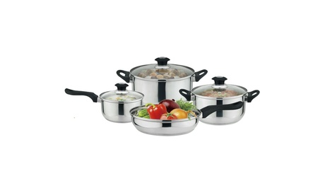 7-Piece Non-Stick Kitchen Cookware Set, Pots and Pans
