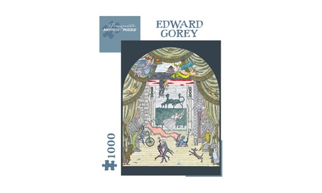 Edward Gorey - Untitled Puzzle: 1000 Pcs 00bb1e23-5ee8-45c3-a775-c40db20c4fa6