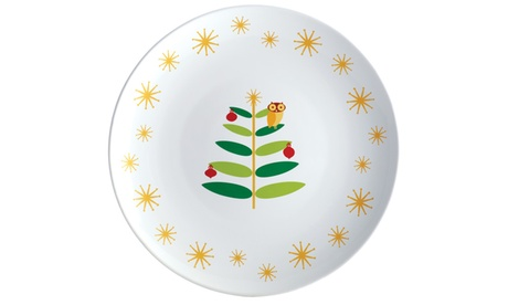 Rachael Ray Holiday Hoot 14in. Platter f38b07ac-a694-42eb-9b00-0c8aef45acca