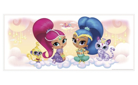 Shimmer & Shine RMK3162GM Burst Giant Wall Graphic 21a99fff-b7da-45db-af13-668f5f59168f