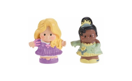 Fisher-Price Little People Disney Rapunzel & Tiana 2Pack Action Figure 43593802-8ef9-4333-ba33-d920025bcddc