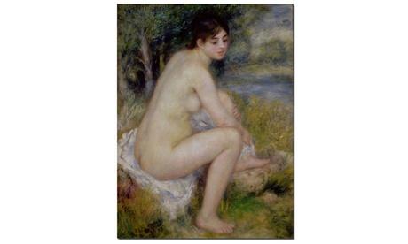 Pierre Renoir 'Nude in a Landscape, 1883' Canvas Art d8d3a875-11f3-4b33-bba6-d0f23de85348