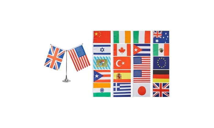Juvale Mini International Flags Country Flags Mini World