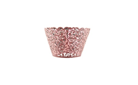 12 Piece Vintage Hollow Out Paper Cupcake Wrapper d3bc1f38-5c63-4fa8-a3c0-5418f3138efd