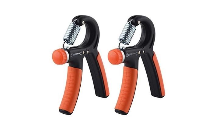 Hand Grip Strengthener Strength Trainer Adjustable 22-88 Lbs