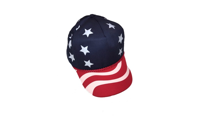 USA Stars and Stripes Cap American Patriotic Hat, 4th of July