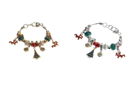 Lova Jewelry Winter Pine Tree Charm Bracelet 2eb7f7c0-4d2e-40a2-a678-d59def982e5e