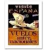 'Visit Espana' Canvas Rolled Art
