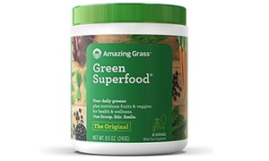 Amazing Grass Green Superfood Organic Powder with Wheat Grass & Greens