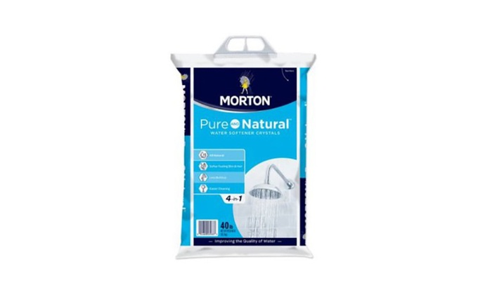 Morton® Pure and Natural™ Water Softener Crystals (40 lb )