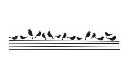 Branch Black Bird Art Wall Removable Vinyl Stickers 5368911d-cf98-44b5-a35f-68aeb829f7a1