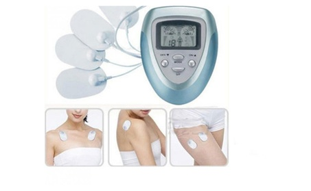 Electronic Pulse Massager Body Slimming Massage with Electrode Pads cc9cbff3-256a-41a0-ab9d-89291c82756b