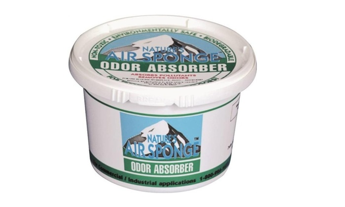 Air Sponge Odor Absorber ~ Nature s air sponge unscented odor absorber