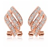 Rose Gold Plated Wing Earrings