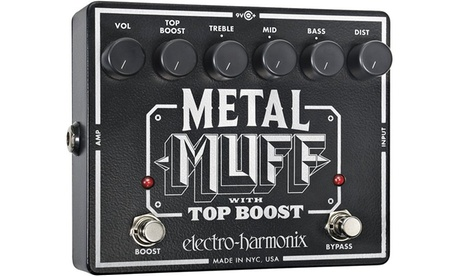 Metal Muff Distortion with Top Boost Guitar Effects Pedal 60690c2d-7e14-4ae5-9ca0-78dc0831307d