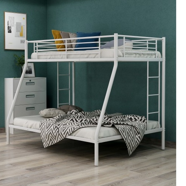 Up To 40 Off On Twin Over Full Metal Bunk Bed Groupon Goods