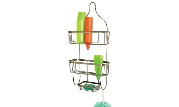 Prince Design Shower Caddy   Groupon on shower caddies that won't rust, shower gel, shower door bottom plastic glide, shower shelves, shower heads, shower tray, shower enclosures, shower floors, shower tile, shower cap,