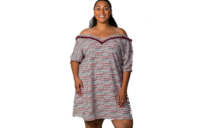 Up To 42% Off on Ladies fashion plus size whit... | Groupon Goods