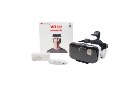 Virtual Reality Headset Built-in Headphones + Gaming Bluetooth Remote f68d49d4-78af-4e68-a615-be63d20da799