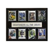 "NCAA Football 12""x15"" West Virginia Mountaineers All-Time Greats Plaque"