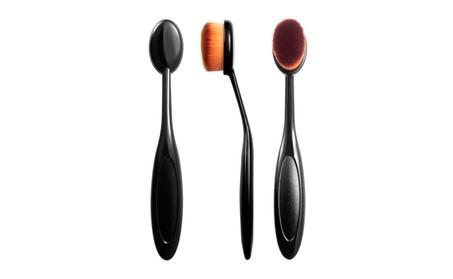 Zodaca Small Head Oval Cream Puff Cosmetic Toothbrush Shaped Power Mak f3ba7e29-aa21-4fdf-b62c-5db6c73c2885