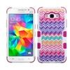 Insten Camo Hard Hybrid Case For Samsung Galaxy Grand Prime Hot Pink