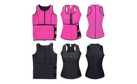 Women Suana Sweat More Fat Burning Waist Cincher Trainer Corset fdf4c64c-1ab0-41e4-9a9c-62d6225a2f09