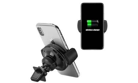 Wireless Charging Qi Standard Air Vent Car Mount for Iphone 8 334086f4-8010-4e50-8bb7-7315e80255d9