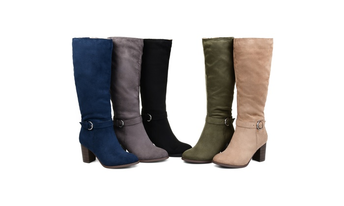 3d25715126969 Journee Collection Womens Comfort Extra Wide Calf Joelle Boot | Groupon