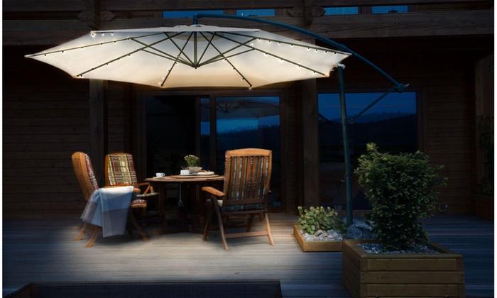 Bon Solar Patio Umbrella LED String Lights (1 , 2 , ...