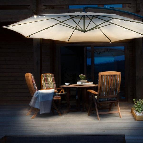 Solar Patio Umbrella Led String