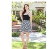 Geometric Print 'Heidi' Flare Skirt