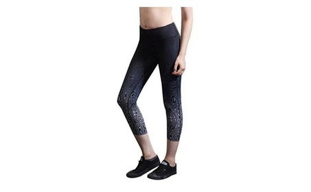 SSNB Women's Ombre Capri Leggings Yoga Capris Pants 23be60db-a410-4127-931a-c1a370f8affa