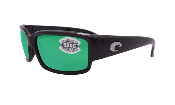 aa0271f04f91 Costa Del Mar Caballito CL 11 OGMGLP Black / Green Mirror 580G | Groupon