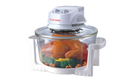 Tayama 12 Qt Convection Turbo Oven in White cf67b59d-84df-4ee9-bbc0-dfc6937af35c
