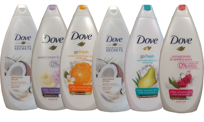 Up To 30 Off On Dove Body Wash Shower Gel Groupon Goods